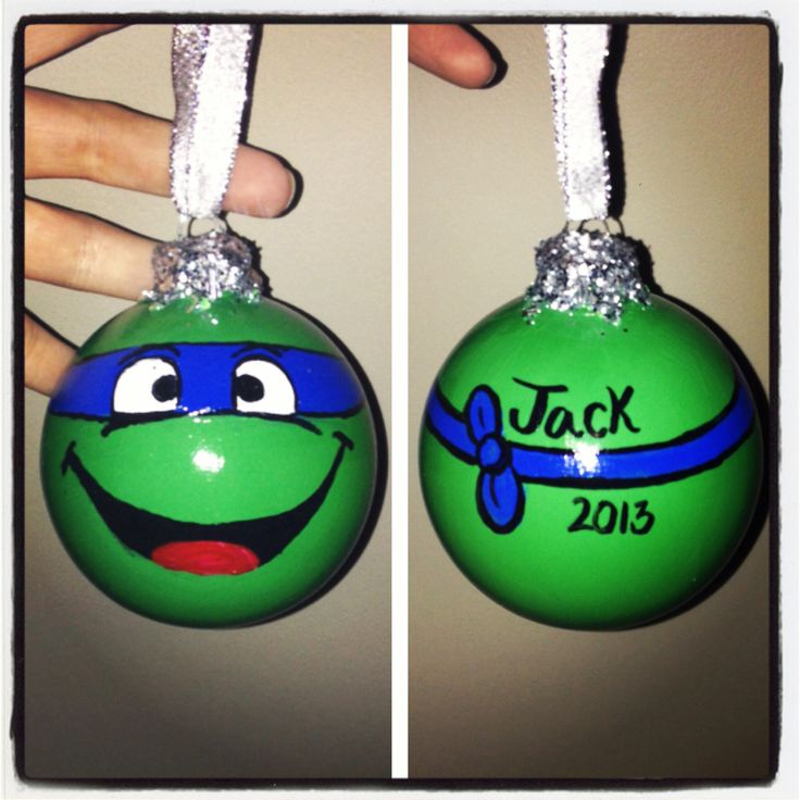 Best 25+ Ninja turtle ornaments ideas on Pinterest   Kids chrismas ...