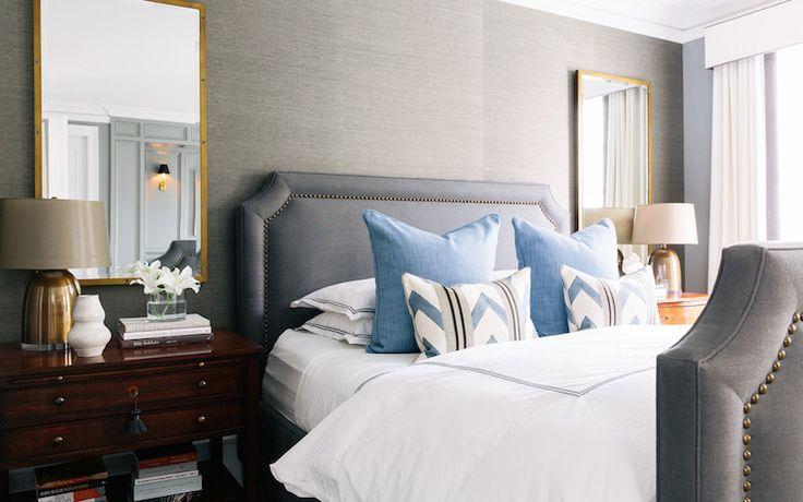Lonny Magazine Bedrooms Grey Bedroom Grey Bedroom