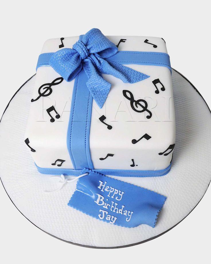 MUSICAL NOTES CAKE MT3990 - Panari Cakes