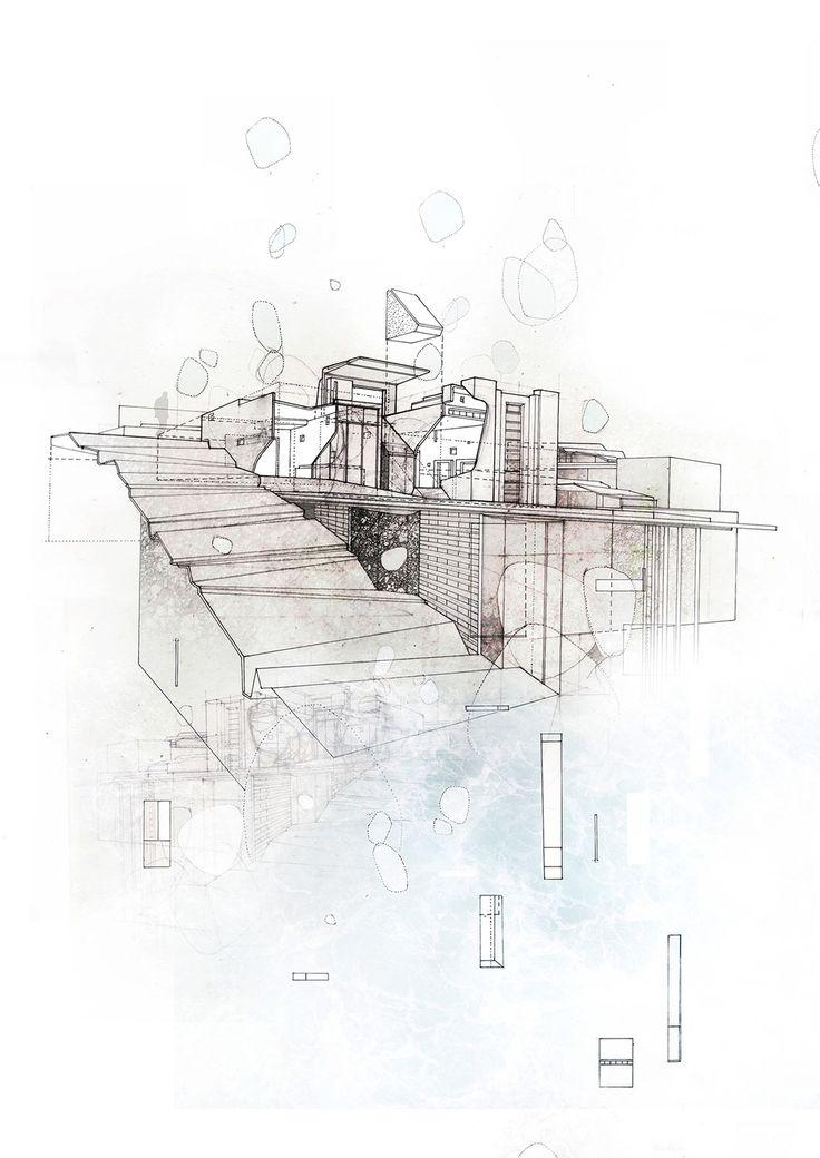 """Untitled"" 2011, 11.7″ x 16.5″, Pencil, ink, and digital rendering -- 110-Charlotte Reynolds-08"