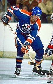 Mark Messier a guy with the smile and the big laugh . One of my favorites,