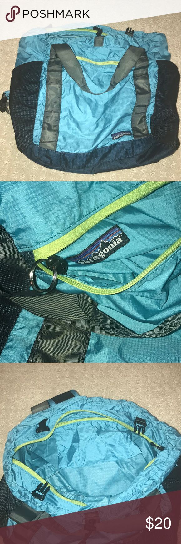 NWOT lightweight Patagonia backpack W- 14.5 in  L- 18.5 in  D- 7 in Lots of pockets and a hook for your keys Patagonia Bags Backpacks