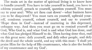 Martyn Lloyd Jones, Spiritual Depression