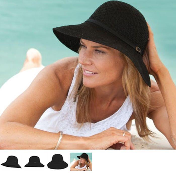 [Kooringal Rosella Black Sun Hat]