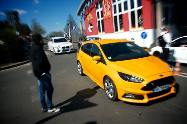 Ford Focus St Ecoboost At Nurburgring Ford Focus St