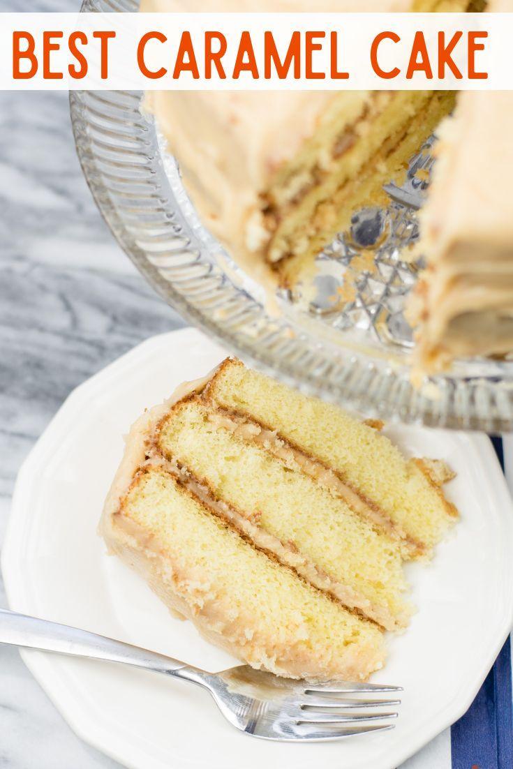 Easy Caramel Cake Recipe Caramel Cake Recipe Cake Recipes Dessert Recipes Easy