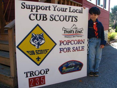 Boy Scouts Popcorn Sales Flyer                                                                                                                                                                                 More