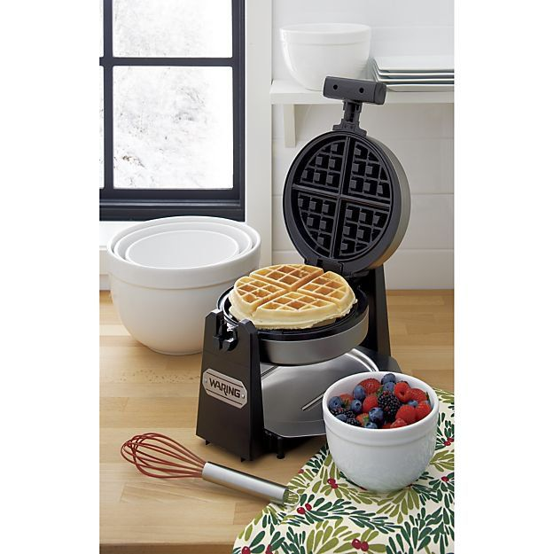 Pin for Later: The Best Holiday Gift Ideas For the Whole Family! Waring Belgian Waffle Maker Thanks to this Belgian waffle maker ($60), you can enjoy a restaurant-style breakfast without leaving your kitchen.