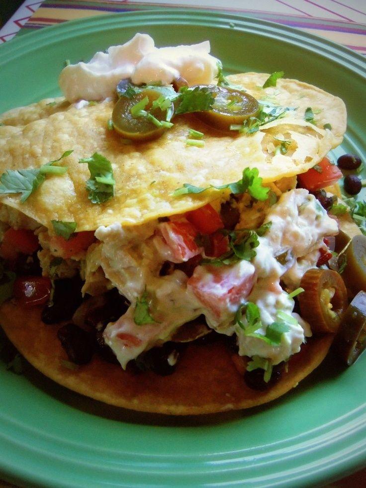 ... tostada recipes chicken tostadas hispanic kitchen rotisserie chicken
