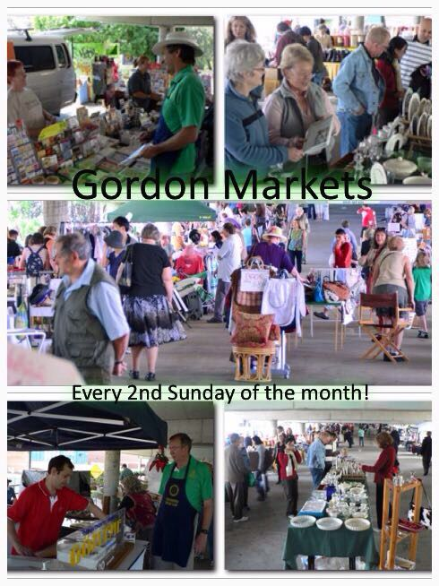 Gordon Markets on e dry 2nd Su day of the month. Located at  Wade Ln, Gordon NSW, on the 2nd level of the council car park. Opens from 8:30 until 3pm.  The best bargain shopping in town.   And Elly Baba's Treasires is going to be there.   Handmade Gifts  Handmade Cards Handmade Jewellery  Handmade Pendent Scarves'  Handmade Tie Dye Clothing Mixed Clothing Furniture & antiques Fine stationery Stamps Tools Books Bric a brac Plants Foods and that's just to name a few.  Easy parking on roof and…