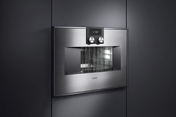 Full steam ahead for Gaggenau's automatic cleaning system