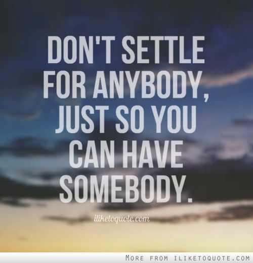 Don't Settle for Less… You can Have More