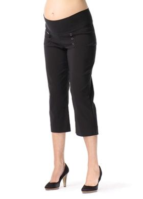 maternity capri pants - Pi Pants