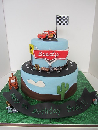 Best Cars Themed Cakes Images On Pinterest Themed Cakes Car - Birthday cake cars 2