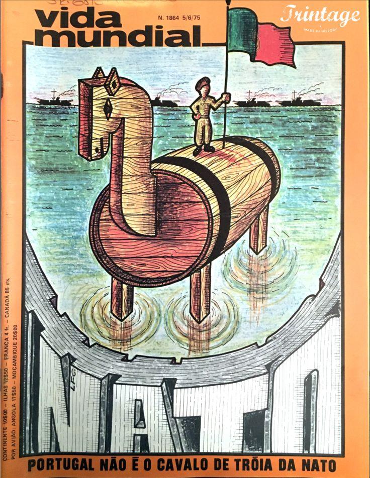 Capa da Revista Vida Mundial, 05/06/1975