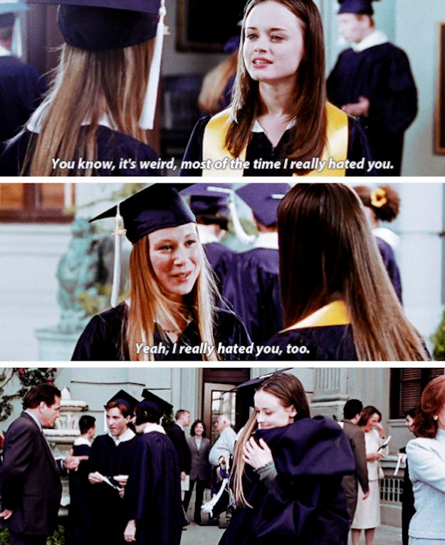 """When they both substituted the word """"love"""" with """"hated"""". 