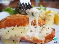 Receta de Filetes de pollo en salsa de queso #RecetasGratis #RecetasdeCocina #RecetasFáciles #RecetasparaNiños #ComidaDivertidaparaNiños #CocinaCreativa #Pollo