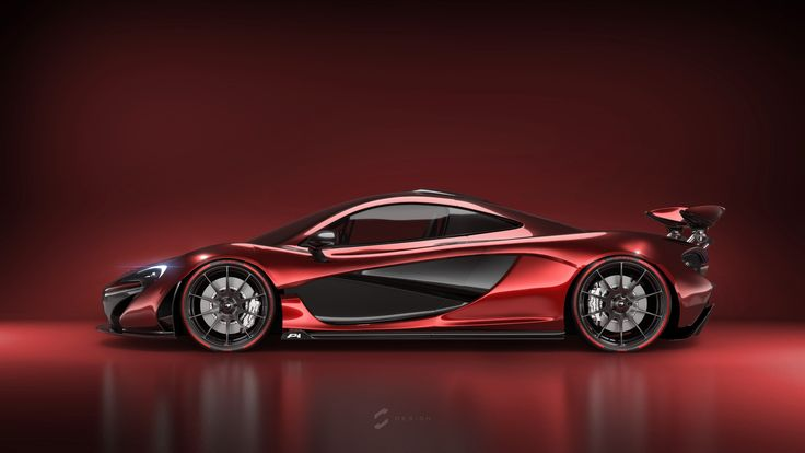 McLaren P1: Red on Red by Sebastian Gomez | Transport | 3D | CGSociety