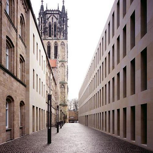 Max Dudler - Diocese library, Münster 2005.