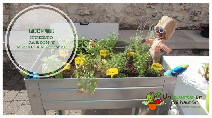 Realizamos talleres para niños de huerto, jardinería y educación ambiental. Mas info en http://www.unhuertoenmibalcon.com/formacion/2015/07/talleres-infantiles-de-huerto-urbano/