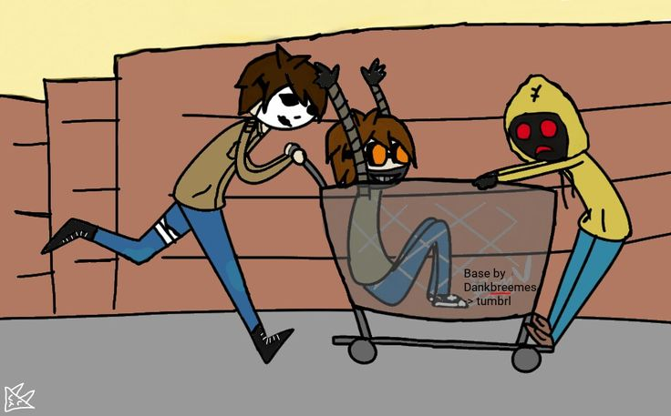 Masky ,ticci toby , Hoodie