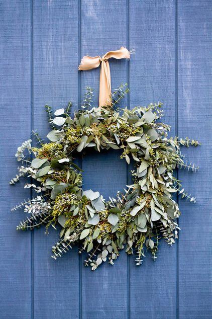 Christmas DIY: Fragrant Eucalyptus Wreath