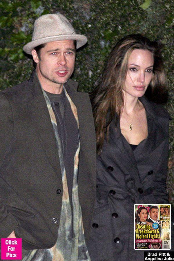Angelina Jolie & Brad Pitt: She Always 'Feared' He'd Go Back To Jennifer Aniston