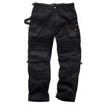 Scruffs 3D Expert Floor Laying Trousers Black