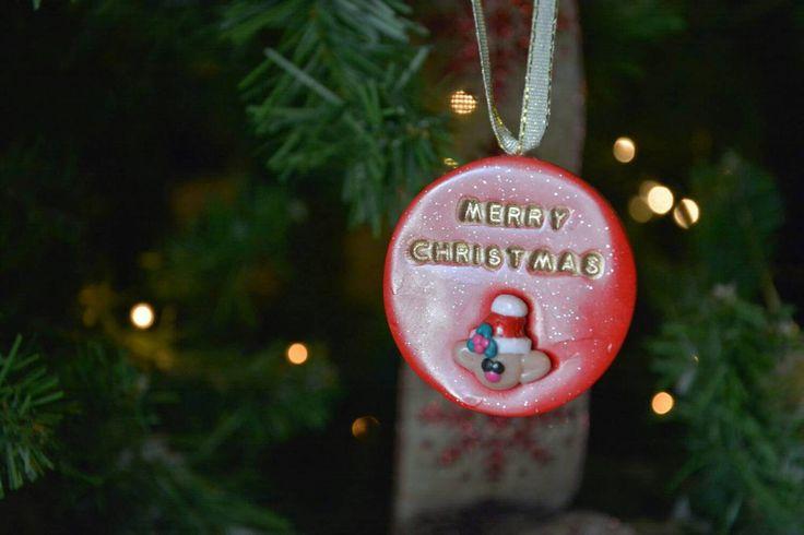 Unique Christmas Ornament, Santa's Elf, Polymer Clay, OOAK, Tree Ornament…