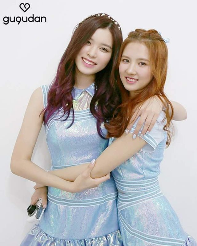 Soyee&Sally #gugudan #sally #soyee