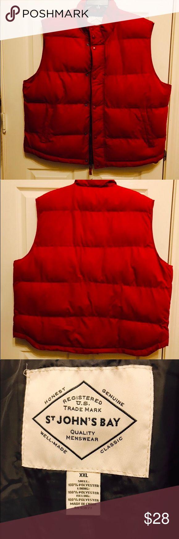 NWT - Men's Puffer Vest - St. John's Bay NWT - Men's Puffer Vest - St. John's Bay St. John's Bay Jackets & Coats Vests