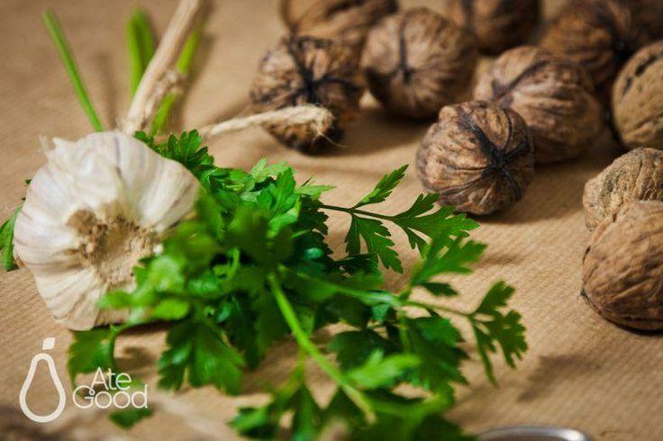 AteGood Recipes: jesienne krewetki z orzechami włoskimi