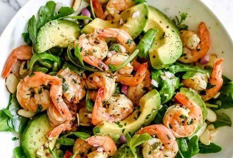 La meilleure recette de salade de crevettes à l'avocat (Un délice santé!)