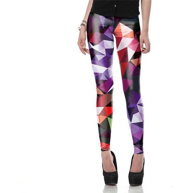 Multi Coloured Leggings