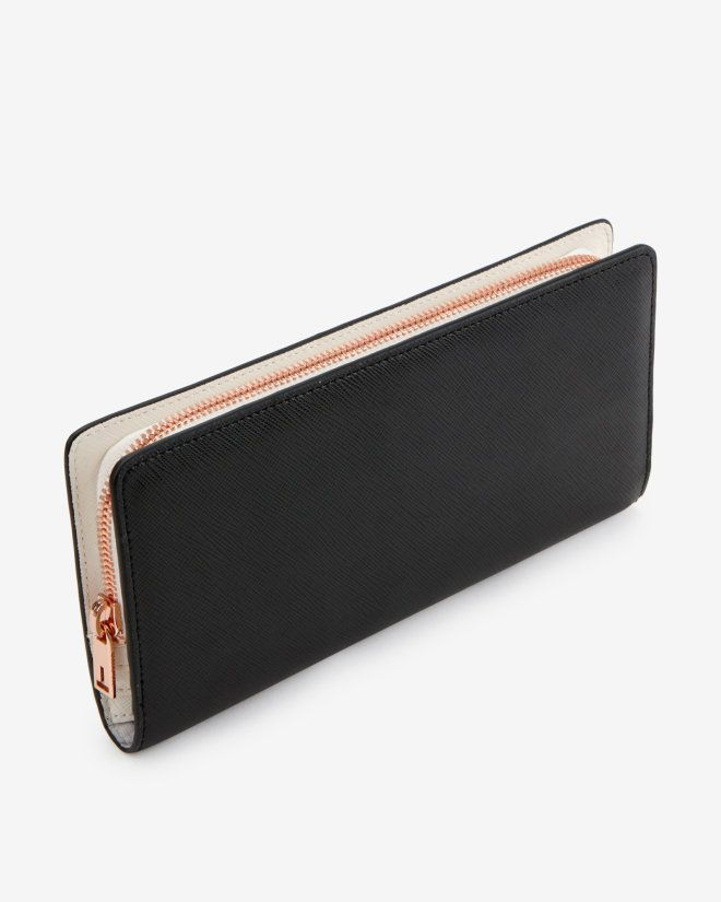 Color block matinee purse - Black   Wallets   Ted Baker