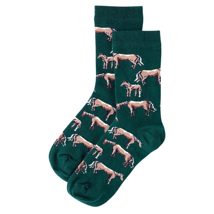 Wild Ponies Mixed Patterned Socks | Fashion | CathKidston