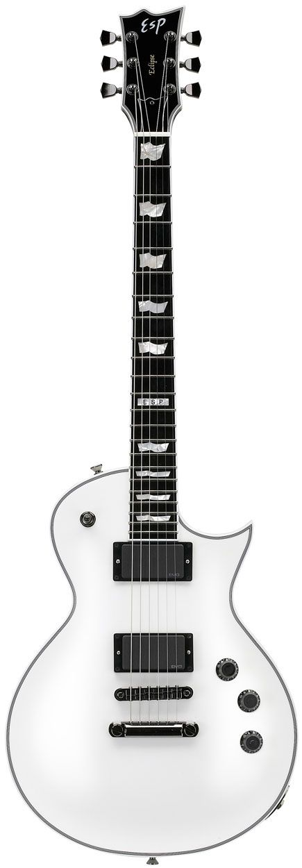 ESP Eclipse II Electric Guitar White