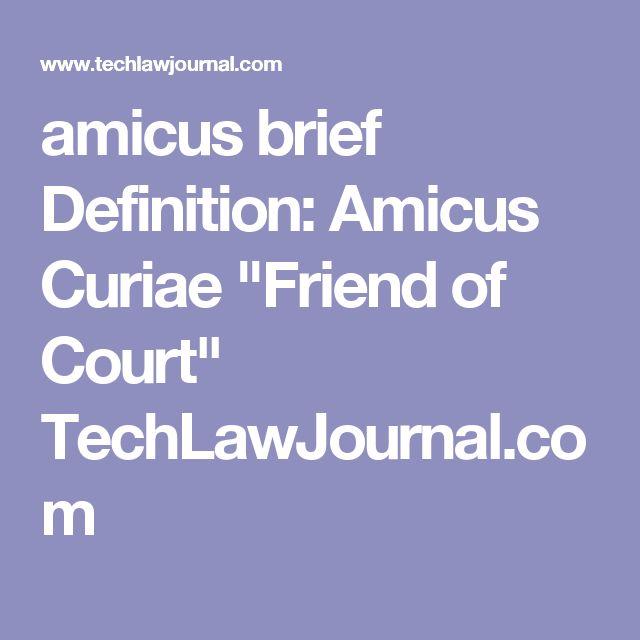 Brief (law)