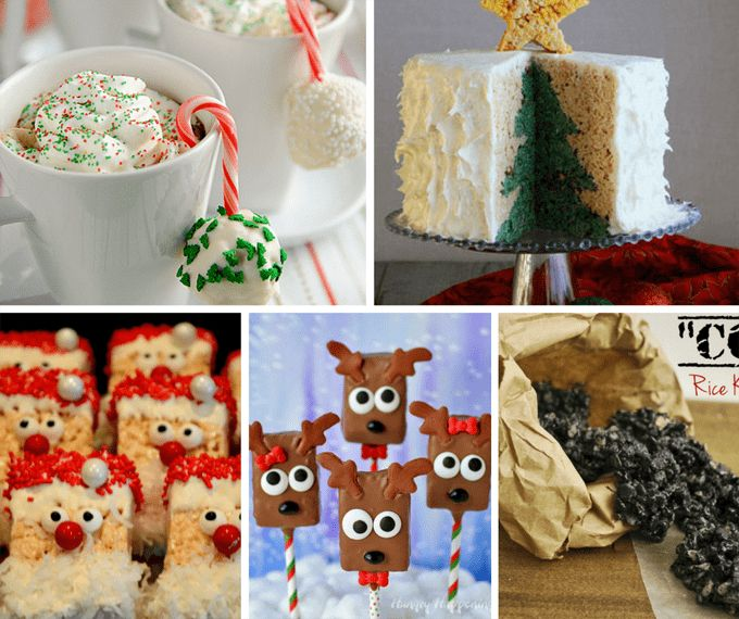 The 25 best rice krispie gingerbread house ideas on pinterest 25 rice krispie treats for christmas cereal treats ccuart Images