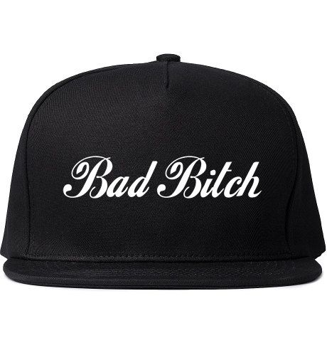 Bad Bitch SnapBack Hat Hip Hop inspired by MyTrendyChicBoutique, $14.99