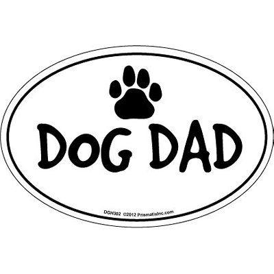 Prismatix Cat & Dog Magnets-Dog Dad - ValuCrafts.com