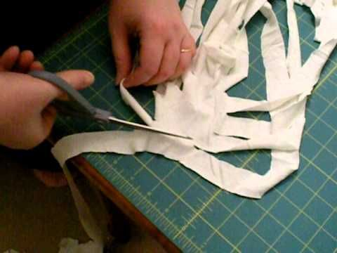 tommelises Tutorial: Upcycling T-Shirt-Garn - YouTube