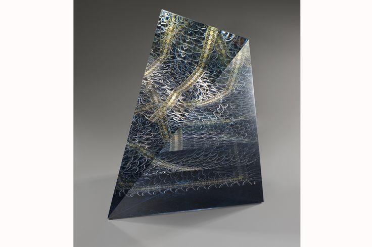 Tale of Genji   Akane Yamamato / Kirikane Glass Art