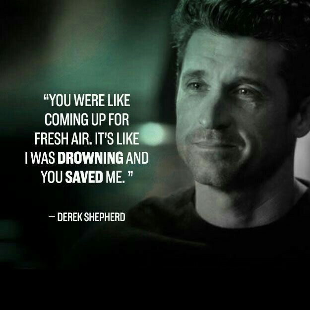 And derek died. 💔 in 2019 | Grey anatomy quotes, Greys ...