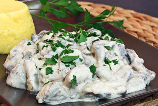 Poulet au Maroilles léger WW, recette d'un délicieux plat complet et savoureux, très facile et simple à réaliser, idéal pour un repas familial.
