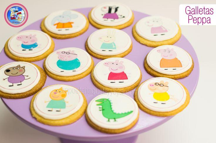 Galletas Peppa Pig - Peppa Pig cookies