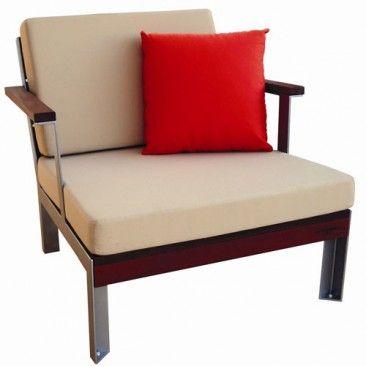 Etra Club Chair & Modern Outdoor Etra Club Chair | YLiving