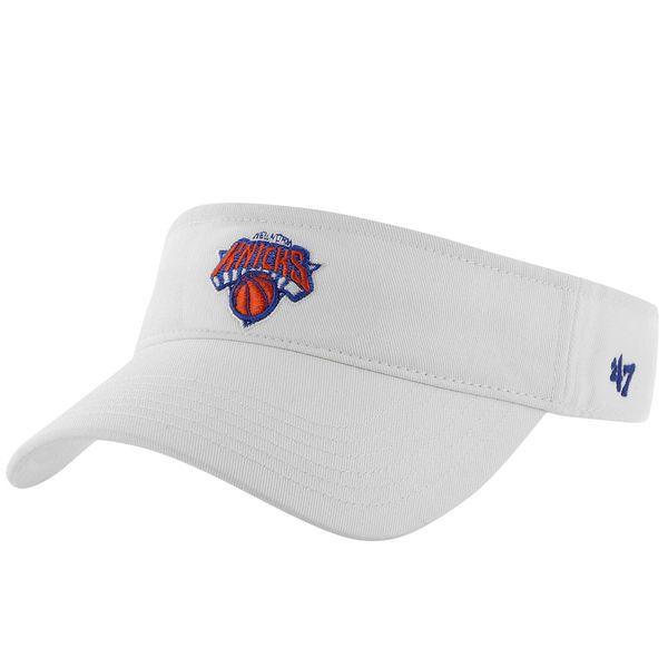 New York Knicks '47 Brand Women's Visor - White - $17.99