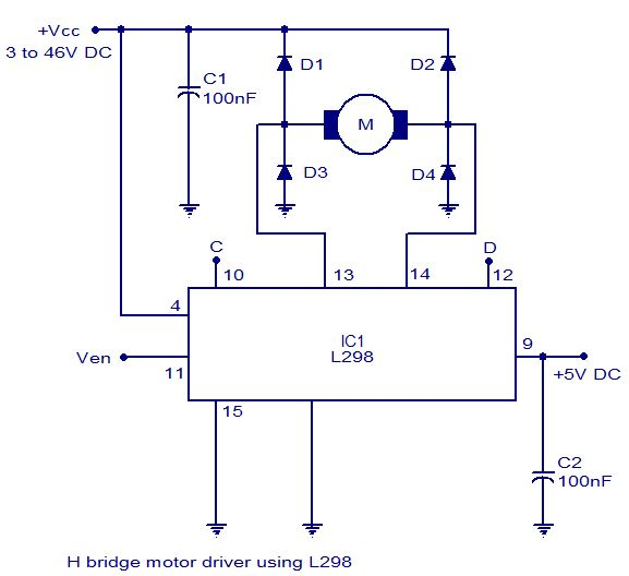 1000 images about electronica on pinterest cooking for Dc motor driver ic