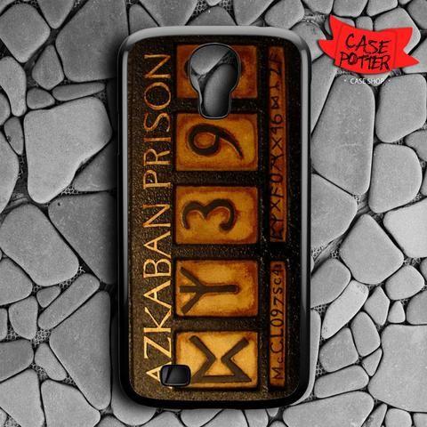 Harry Potter Azkaban Prison Samsung Galaxy S4 Black Case
